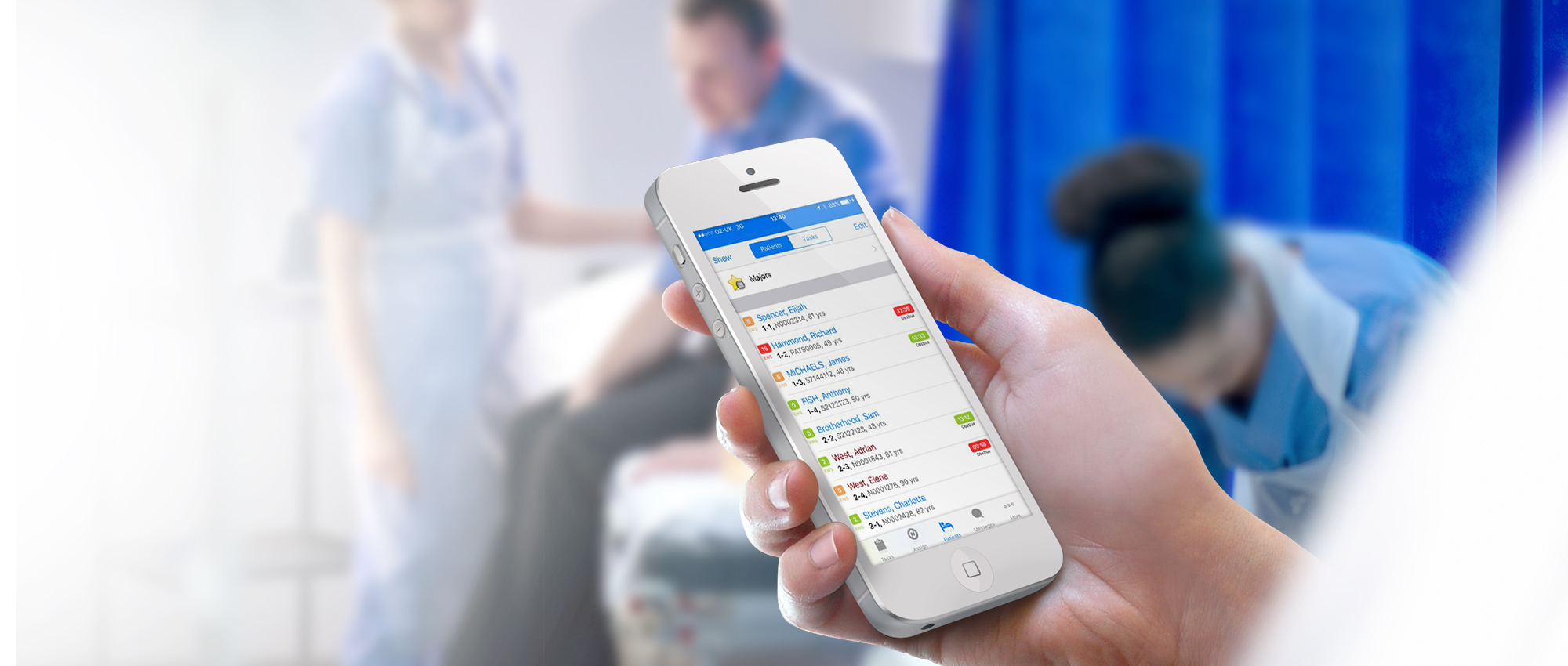 Nervecentre is a Mobile Clinical Workflow Platform, designed for clinicians, in close partnership with over 30 NHS Trusts